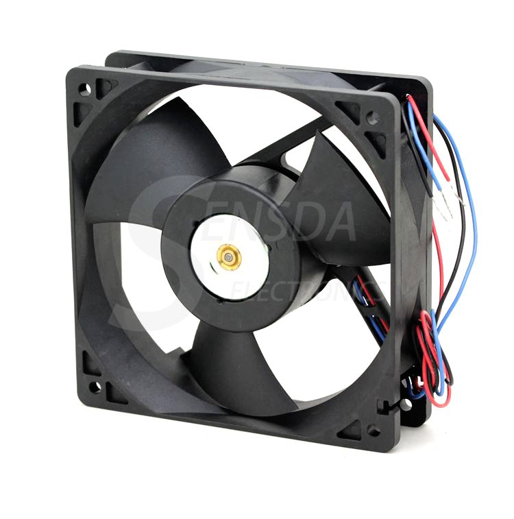 Delta EFB1248VHF DC48V 0.33A 3lines -ROO -R00 axial cooling fan