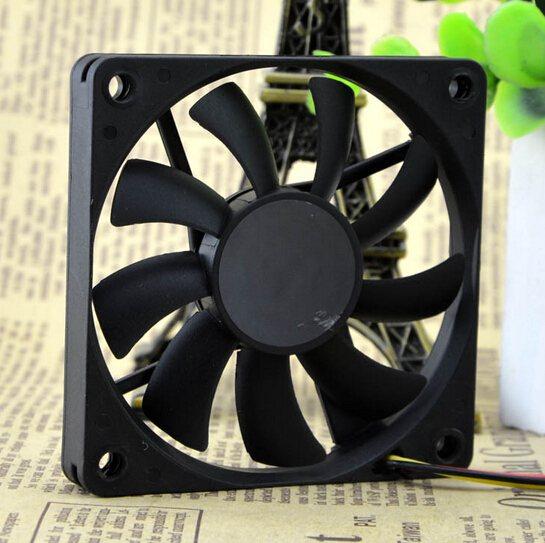 SUNON KDE1207PFV3-A 12V 0.7W 70*70*10 7CM 3 pin quiet cooling fan