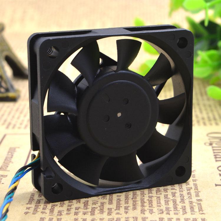 Delta AFB0612LB 12V 0.10A 4-wire PWM temperature control CPU mute cooling fan
