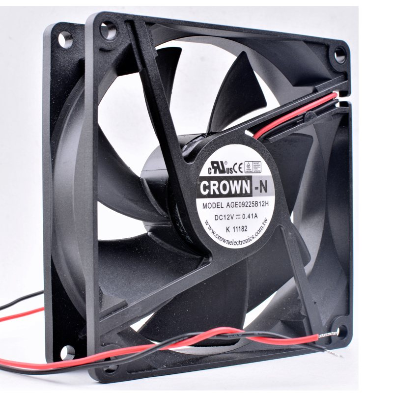CROWN AGE09225B12H 9cm DC12V 0.41A cooling fan