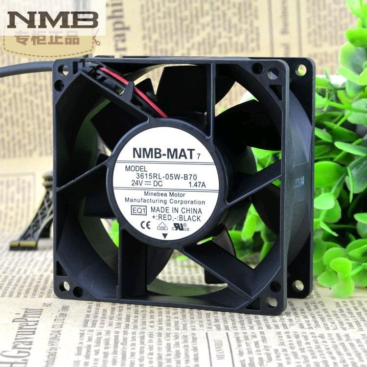 NMB 3615RL-05W-B70 -E00 DC24V 1.47A 92X38.4MM cooling fan