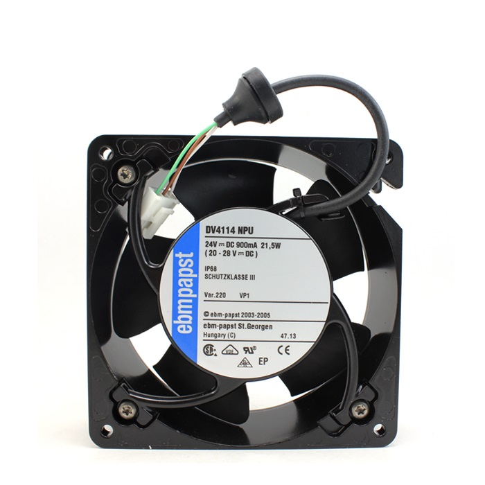 DV4114NPU 12038 24V 0.9A waterproof fan axial machine