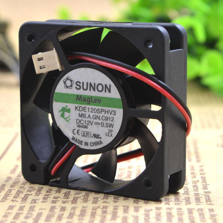 SUNON KDE1205PHV3  5CM  Maglev silence 0.5W cooling fan