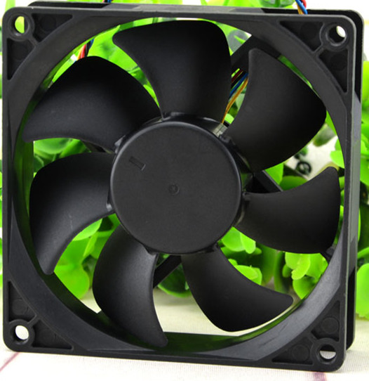 AVC DS09225B12U 12V 0.56A 9CM 2wire Double ball bearing cooling fan
