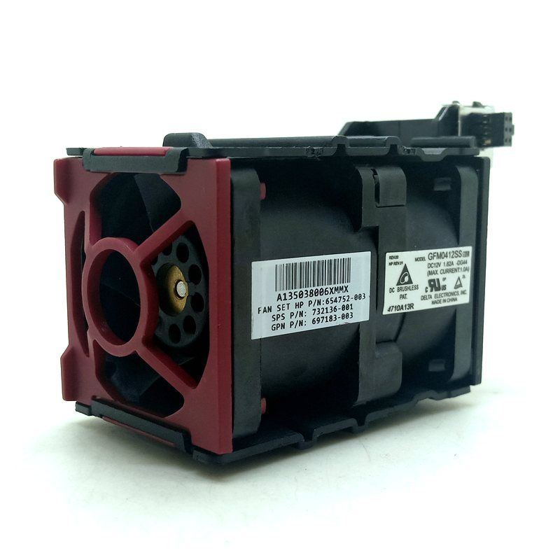 delta GMF0412SS DC12V HP Proliant DL360 DL360p DL360e G8 Gen8 Server Cooling Fan 732136-001 654752-002 697183-003