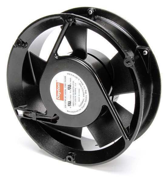 DAYTON 3VU69 115VAC 6-3/4″ Round Axial cooling Fan