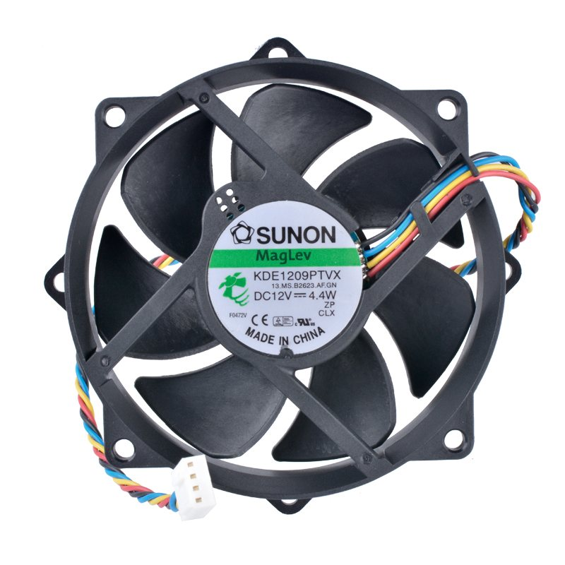 SUNON KDE19PTVX DC12V 4.4W CPU 4pin PWM cooling fan