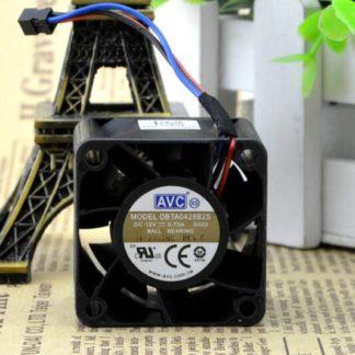 AVC DBTA0428B2S 40*40*28 4CM 12V 0.73A dual ball fan