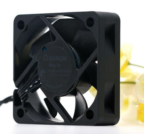 SUNON HA50151V4-1Q01U-Q99 DC12V 0.24W Two Ball Bearing Cooling Fan