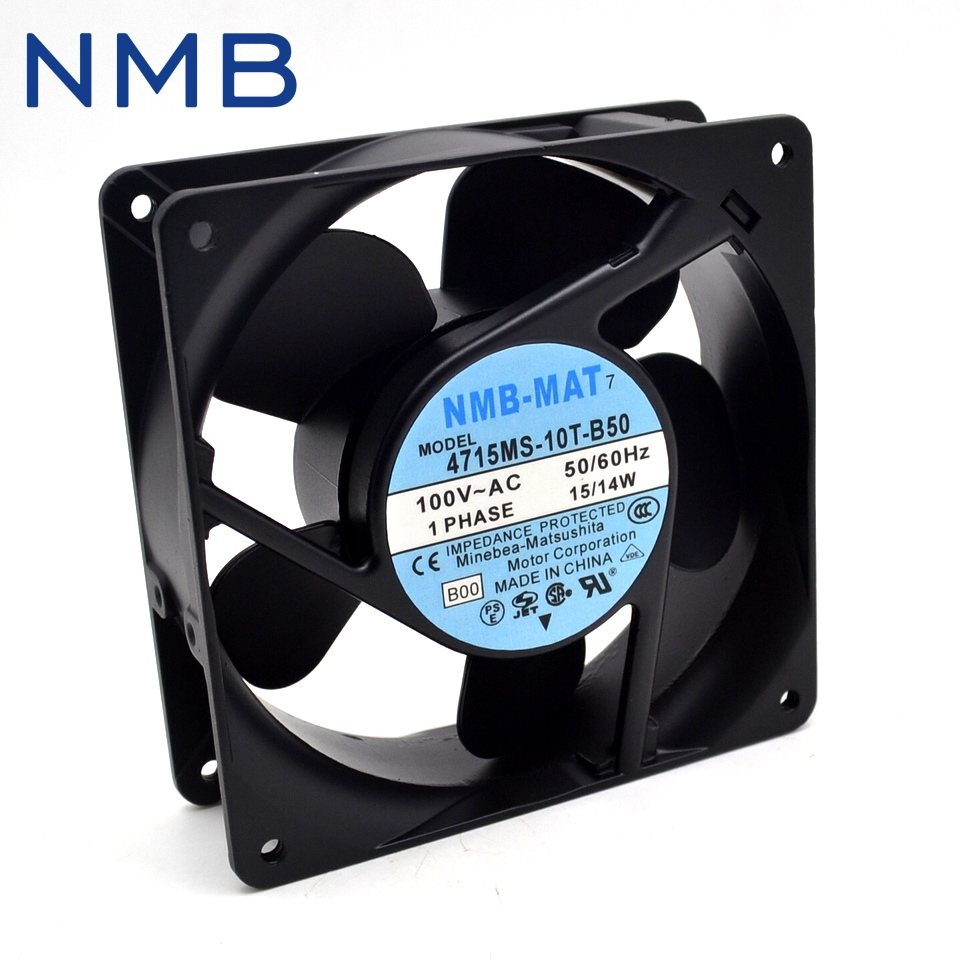 NMB 4715MS-10T-B50 100V 15/14W UPS power supply cooling fan