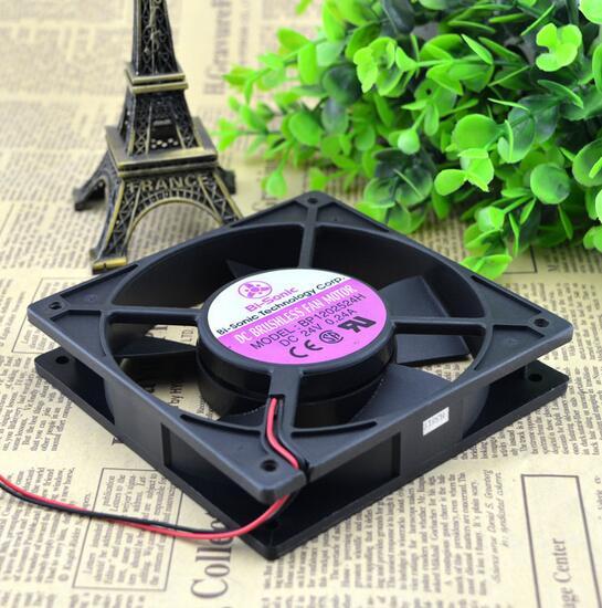 Bi-Sonic BP1202524H DC24V 0.24A 120*120*25  2wire inverter cooling fan