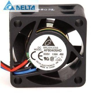 Delta AFB0405HD 0.4A 2W 7600RPM 8.48CFM 33dB cooling fan