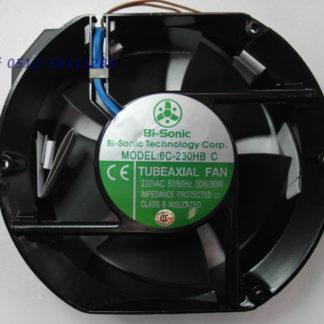 Bi-sonic 6C-230HBC 230VAC tubeaxial cooling fan