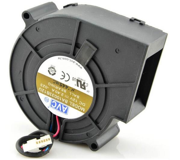 AVC BA10033B12U DC 12V 2.40A oven ball draught blower cooling fan
