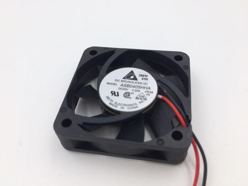 Delta ASB0405HHA  DC5V router hard disk recorder cooling fan