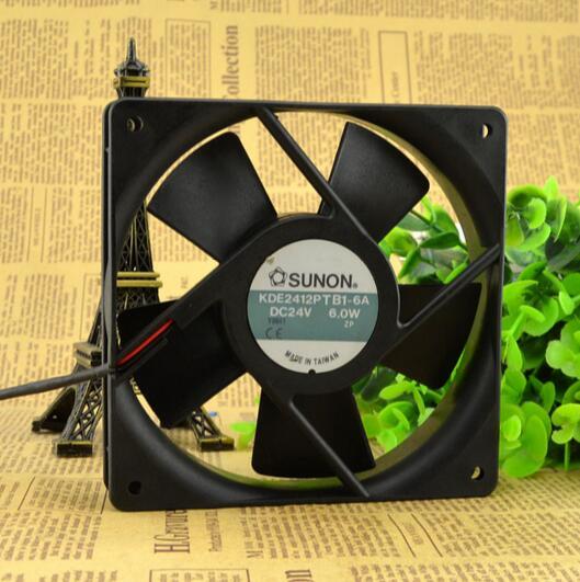 SUNON KDE2412PTB1-6A DC24V 6.0W cooling fan