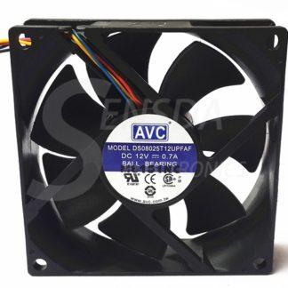 AVC DS08025T12UPFAF 80mm DC12V 0.7A PWM cooling fan