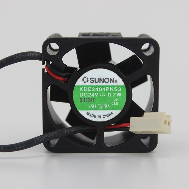 Sunon KDE2404PKS3 4cm DC 24V 0.7W Cooling fan