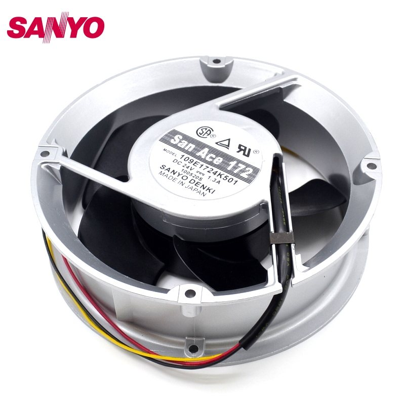 SANYO 109E1724K501 DC24V 1.3A 17CM cooling fan