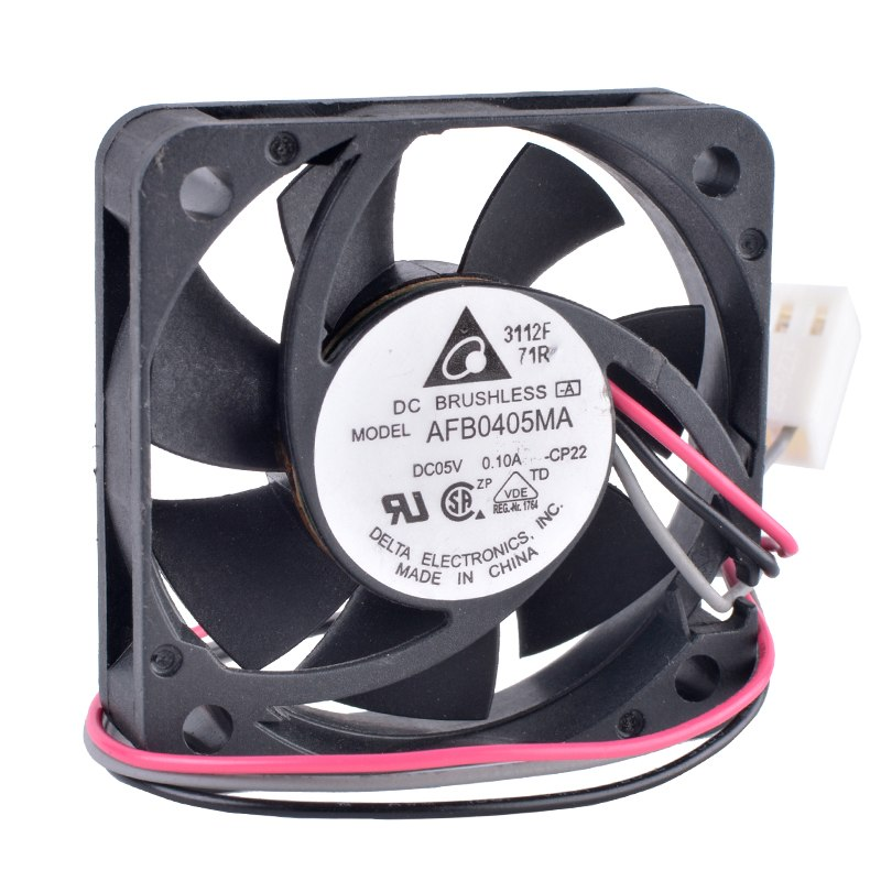 DELTA AFB0405MA 5V 0.10A Double Ball Bearing Cooling Fan