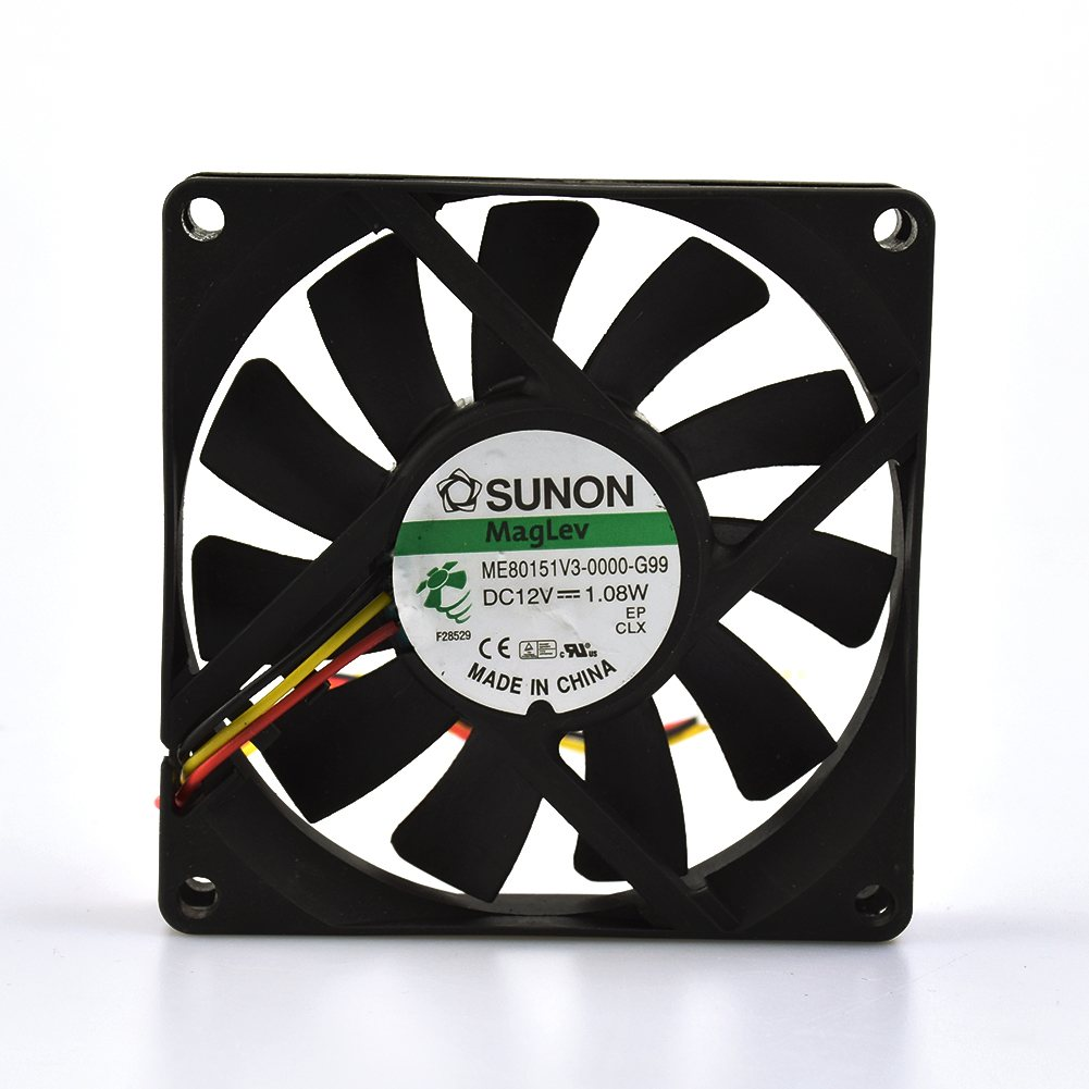 SUNON ME80151V3-0000-G99 DC12V 1.08W  80*80*15mm fan