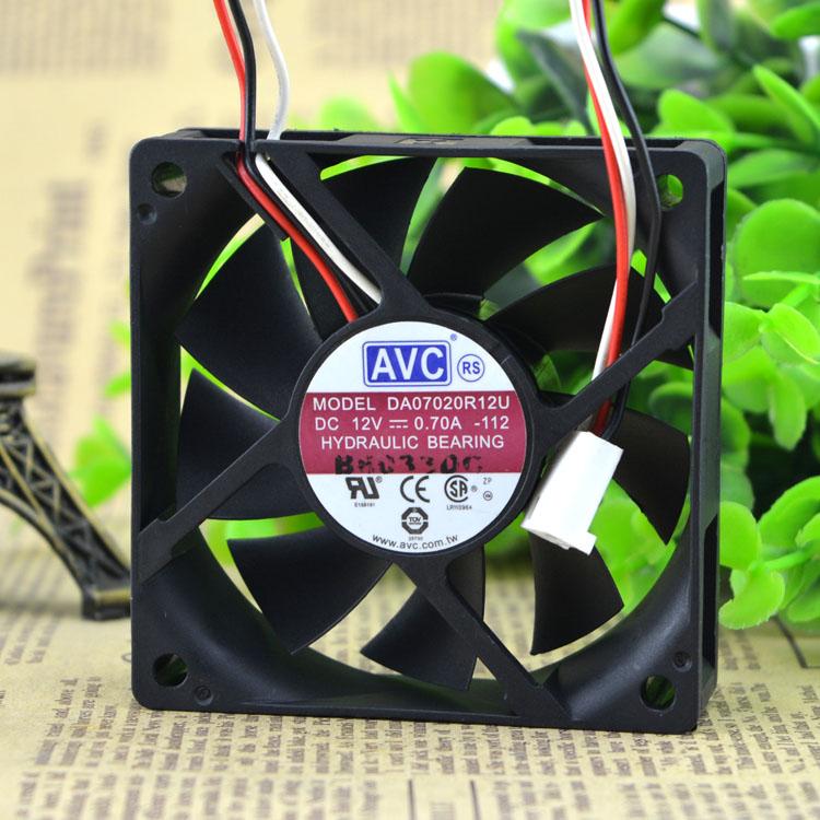 AVC DA07020R12U DC12V 0.70A HYDRAULIC BEARING FAN