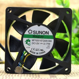 SUNON MF70251V2-Q0-S9A DC12V 3.17W 4-wire Chassis Cooling Fan