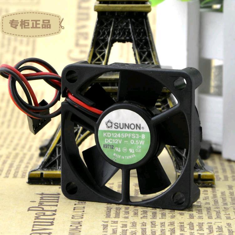 SUNON KD1245PFS3-8 DC12V 0.5W cooling fan