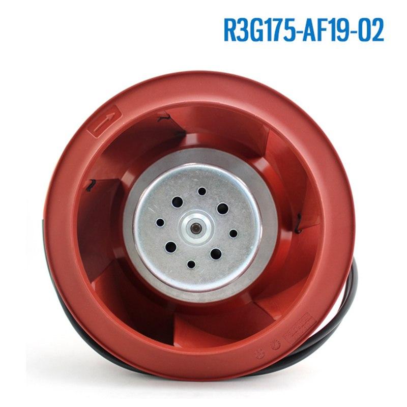 Ebmpapst R3G175-AF19-02 AC230V 0.8A 104W cooling fan