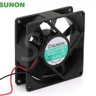 SUNON KDE2408PTB3-6 80mm  DC24V 2.4W server inverter axial cooling fan