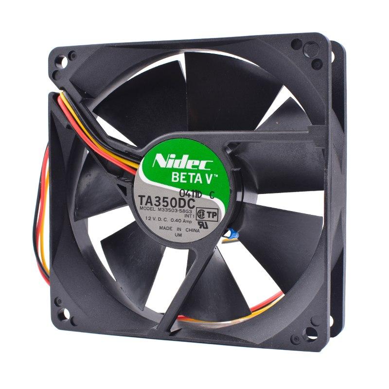 Nidec M33503-58G3 12V 0.40A CPU cooling fan