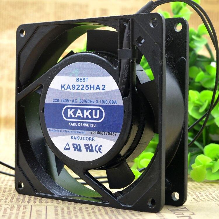 KAKU KA9225HA2 ST AC220V 0.10A/0.09A  bearing bearing Cooling fan