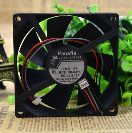 Panaflo FBA09A12L 0.15A 12V three wire speed fan chassis fan