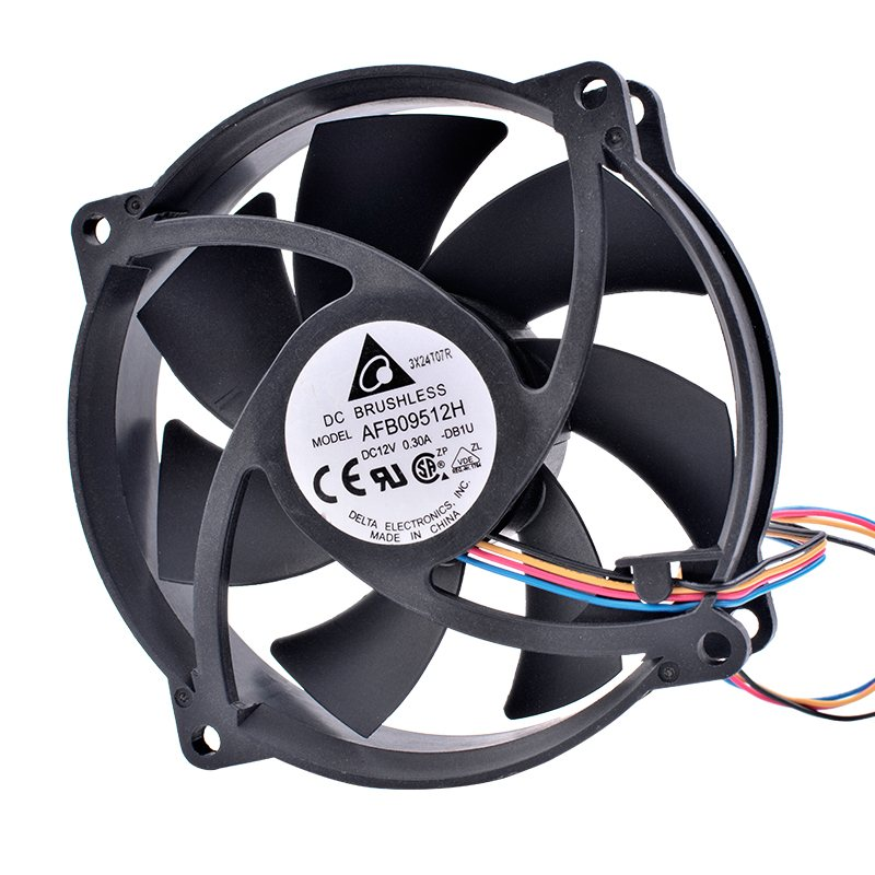 DELTA AFB09512H 12V 0.30A Double ball bearing cooling fan