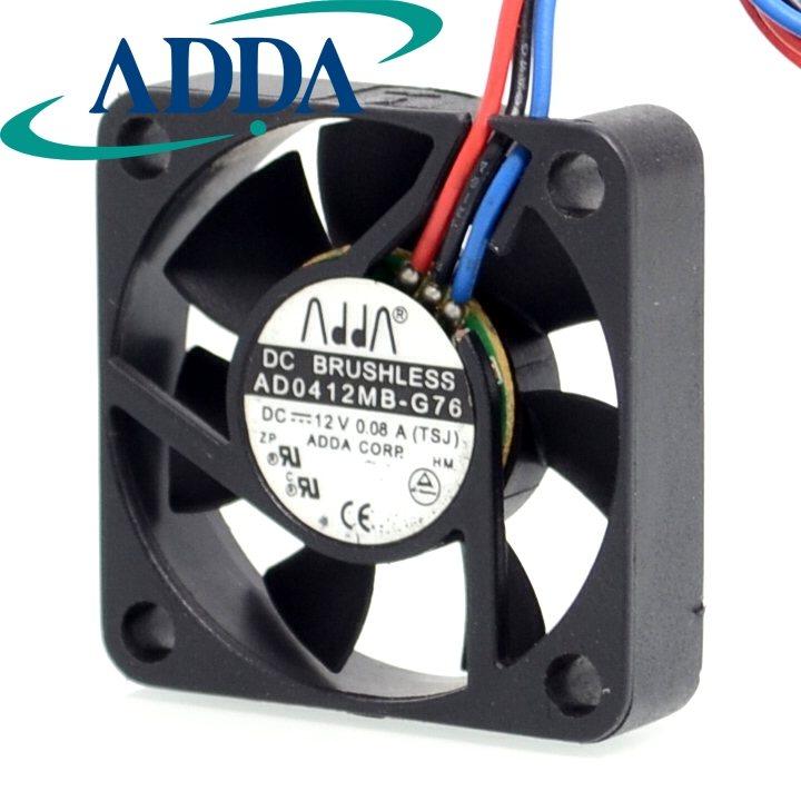 ADDA AD0412MB-G76  4cm DC12V 0.08A  ball bearing fan
