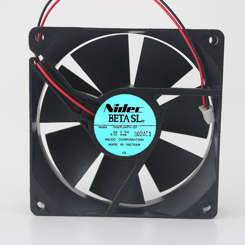 Nidec D09T-24PH 24V 0.10A 9CM 2-wire inverter fan