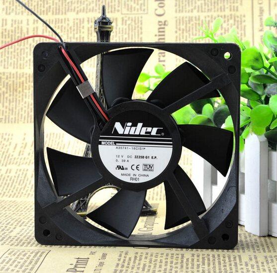 NIDEC A35741-16CIS1 DC12V 0.39A dual ball cooling fan