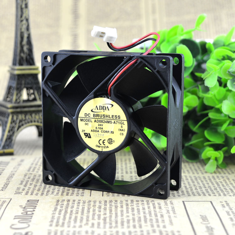 ADDA AD0824MS-A71GL DC24V 0.10A cooling fan