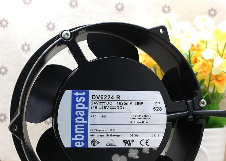 Ebmpapst DV6224R 24V 39W 1.625A 172*51MM the inverter fan ACS800 DV 6224 R