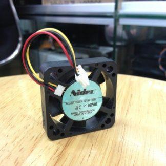 NIDEC D04X-12TH DC12V 0.06A 40x40x10mm  3lines speed mute CPU fan