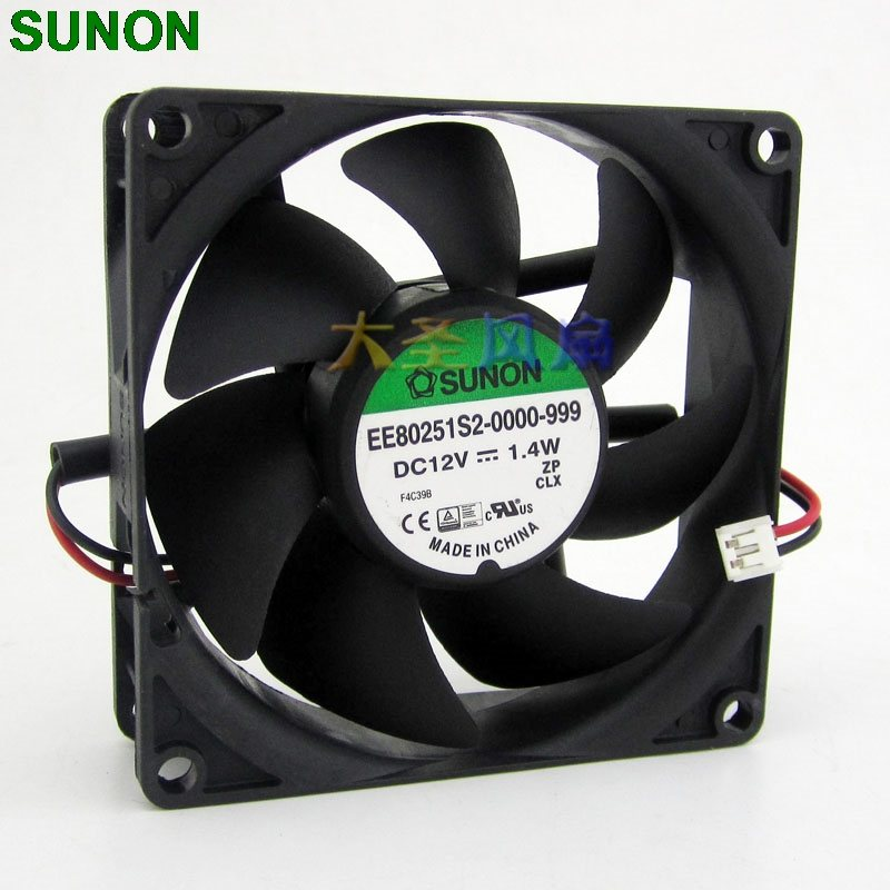 Sunon EE80251S2-0000-999 1.4W 12V  axial cooling fan