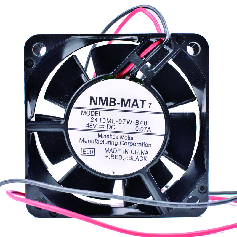 NMB 2410ML-07W-B40 6cm 48V 0.07A Inverter server cooling fan