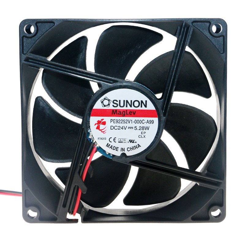 SUNON PE92252V1-000C-A99 DC 24V 5.28W inverter cooling fan