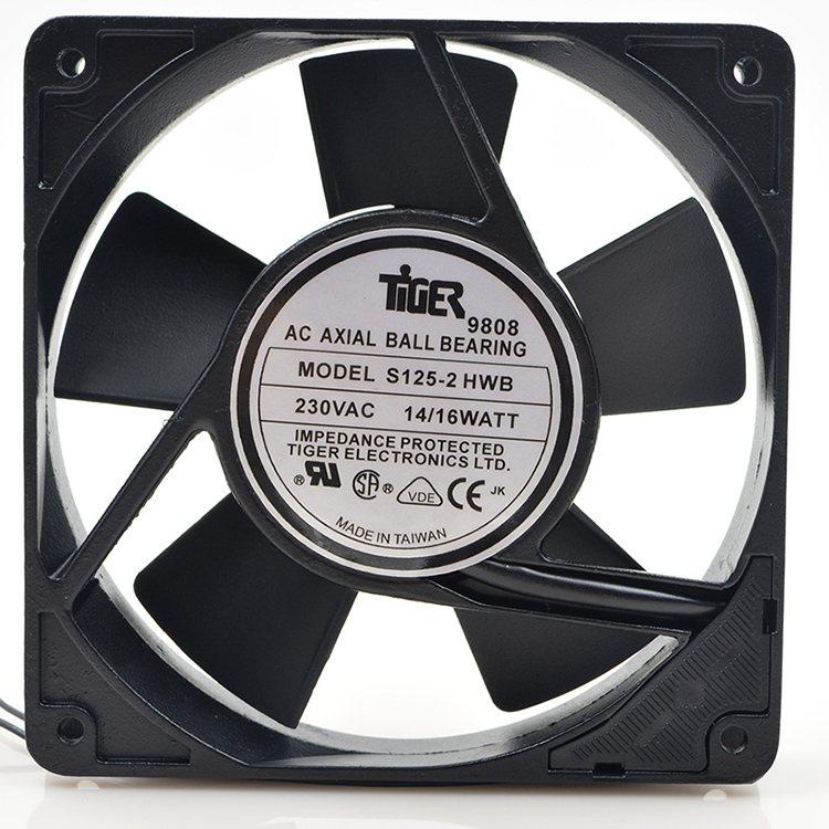 S125-2 HWB 230V 1.6W 12CM high temperature direct drive power supply fan