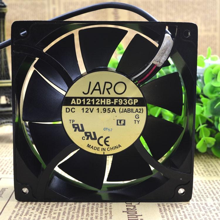 JARO AD1212HB-F93GP DC12V 1.95A 12CM cooling fan