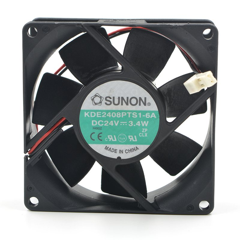 SUNON KDE2408PTS1-6A 8CM 24V 3.4W inverter cooling fan