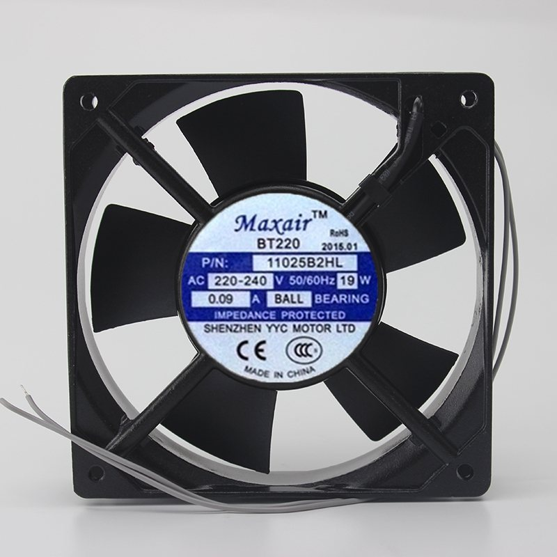 Maxair 11025B2HL 220V BT220 axial  AC ball cooling fan