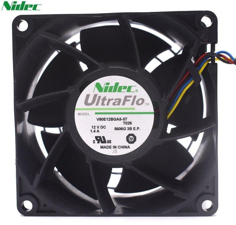 NIDEC V80E12BGA5-07 12V 1.4A intelligent cooling fan