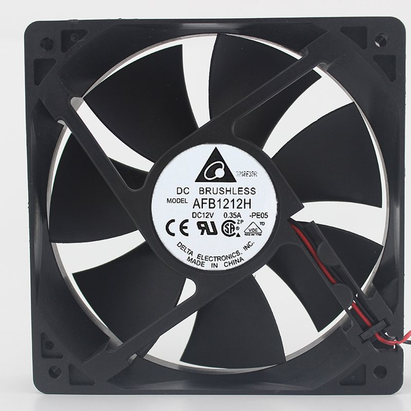Delta AFB1212H 12V 0.35A 12CM cooling fan