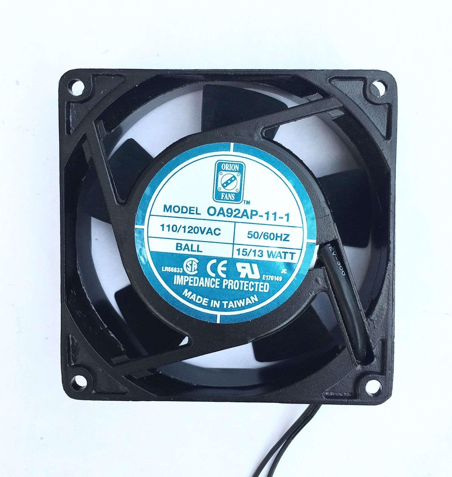 Orion OA92AP-11-1 110/120AC 92mm  Cooling Fan